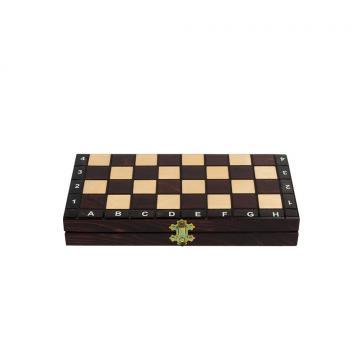 Klasyczna gra planszowa - szachy drewniane 29 cm x 29 cm
