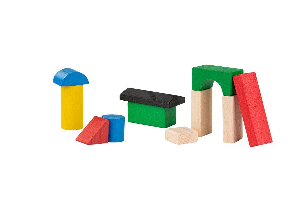 Klocki konstrukcyjne | kolorowe do zabawy dla dzieci w domu