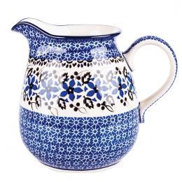 Dzbanek 1,5 l - ceramika Bolesławiec - polne kwiaty