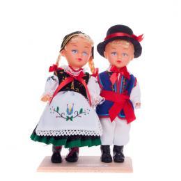 Para kaszubska - lalki ubrane w kaszubskie stroje ludowe | 23 cm