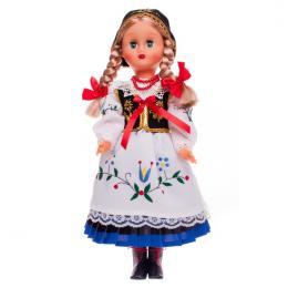 Lalka ludowa - kaszubski strój regionalny | 40 cm