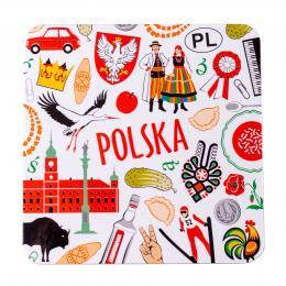 Podkładka korkowa - POLSKA symbole