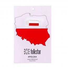 Przypinka Flaga Polski