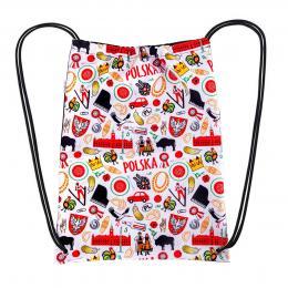 Worek, plecak sportowy- POLSKA symbole