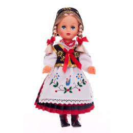 Lalka ludowa - kaszubski strój regionalny | 30 cm
