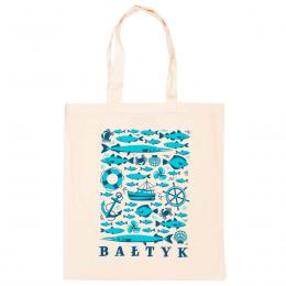 Bawełniana torba - BAŁTYK symbole
