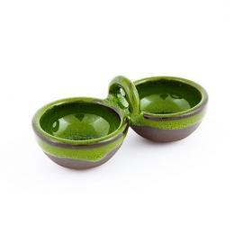 Malutki dwojaczek z zielonym szkliwem