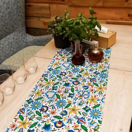 Bieżnik stołowy - 40x140cm - kaszubski