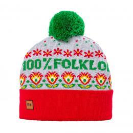 Czapka zimowa - 100% folklor