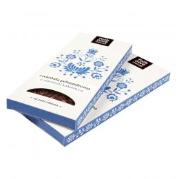 Czekolada pełnomleczna z ziarnami kakaowca FOLKowe Mecyje - Kaszuby