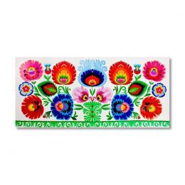 Tradycyjna kodra kwiatowa - folklor łowicki