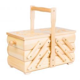 Drewniana niciarka góralska - jasne drewno