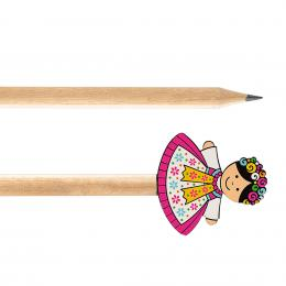 Ołówek drewniany FOLK - Górnoślązaczka
