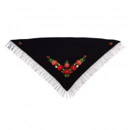 Duża chusta z haftem