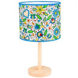 Lampa stojąca FOLK - duża - kaszubska