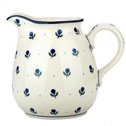 Dzbanek 1,5 l - ceramika Bolesławiec - jagódki