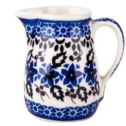 Malutki dzbanuszek - ceramika Bolesławiec - polne kwiaty