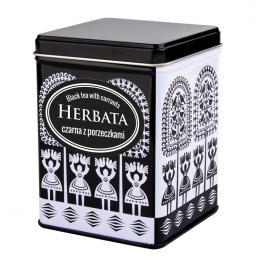 Herbata czarna z porzeczkami w FOLK puszce - kurpiowska