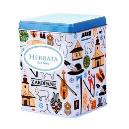 Herbata w ozdobnej puszce - ZAKOPANE symbole