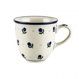 Kubek filiżankowy - ceramika Bolesławiec - jagódki