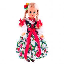 Lalka ludowa - góralski strój regionalny | 30 cm