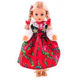 Lalka ludowa - góralski strój regionalny | 40 cm
