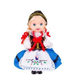 Lalka ludowa - kaszubski strój regionalny | 11 cm