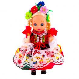 Lalka ludowa - krakowski strój regionalny | 11 cm