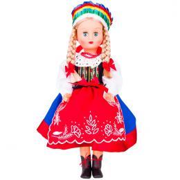 Lalka ludowa - kujawski strój regionalny | 40 cm