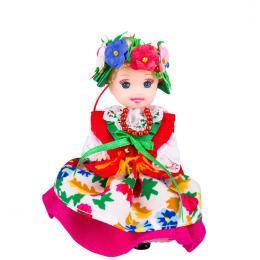 Lalka ludowa - śląski rozbarski strój regionalny | 11 cm