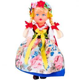 Lalka ludowa - śląski rozbarski strój regionalny | 23 cm