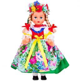 Lalka ludowa - śląski rozbarski strój regionalny | 30 cm