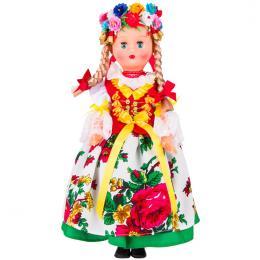 Lalka ludowa - śląski rozbarski strój regionalny | 40 cm