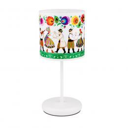 Lampa stojąca FOLK - mała - łowicka kodra