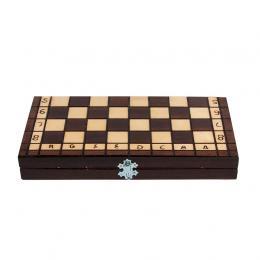 Klasyczna gra planszowa - szachy drewniane 35 cm x 35 cm