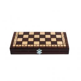 Klasyczna gra planszowa - szachy drewniane 31 cm x 31 cm