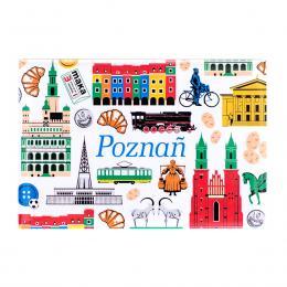 Magnes wypukły - Poznań symbole