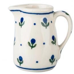 Malutki dzbanuszek - ceramika Bolesławiec - jagódki