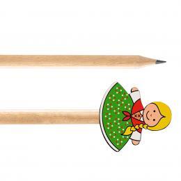 Ołówek drewniany FOLK - Góralka