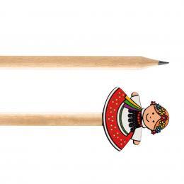 Ołówek drewniany FOLK - Krakowianka