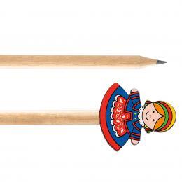 Ołówek drewniany FOLK - Kujawianka