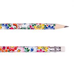 Ołówek z gumką FOLK - opolski