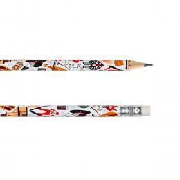Ołówek z gumką - ZAKOPANE symbole