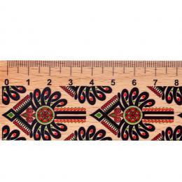 Linijka drewniana - 20 cm - parzenica