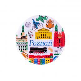 Przypinka - Poznań symbole