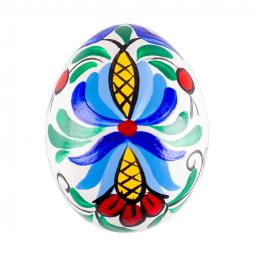 Ręcznie malowana pisanka - tradycyjny wzór kaszubski
