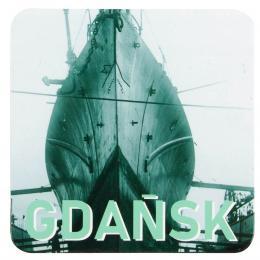 Podkładka korkowa - GDAŃSK statek