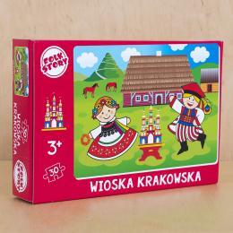Puzzle - wioska krakowska - 30 elementów