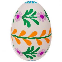 Pisanka - gęsie jajo - palemka dookoła