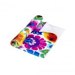 Ręcznik - 30x50 cm - łowicki biały